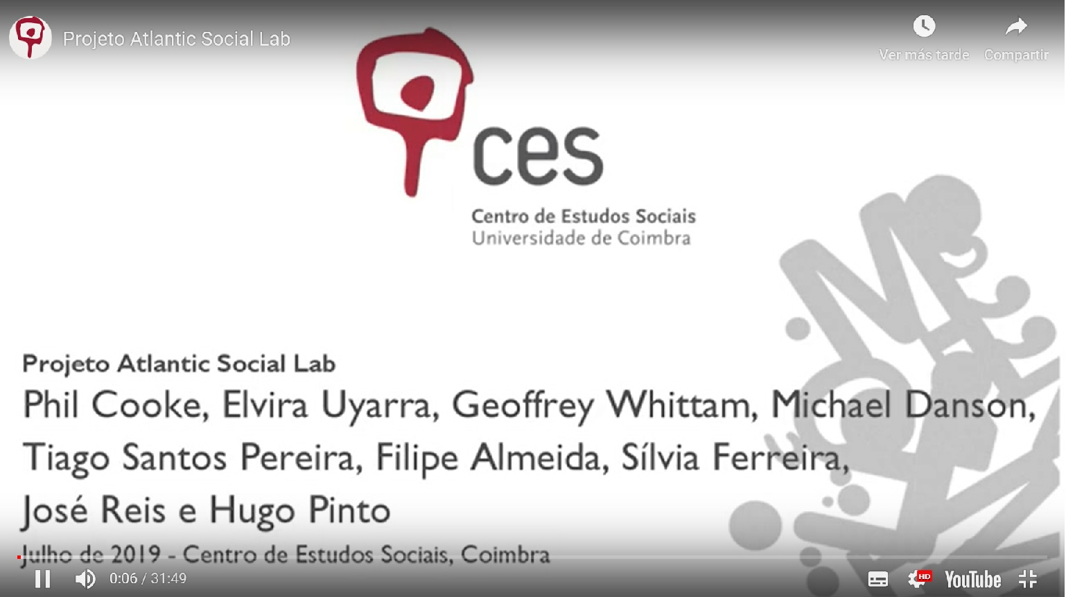 "Video recorded by CES Coimbra partner in the framework of the International Workshop ""Social Innovation and the Role of the State"""
