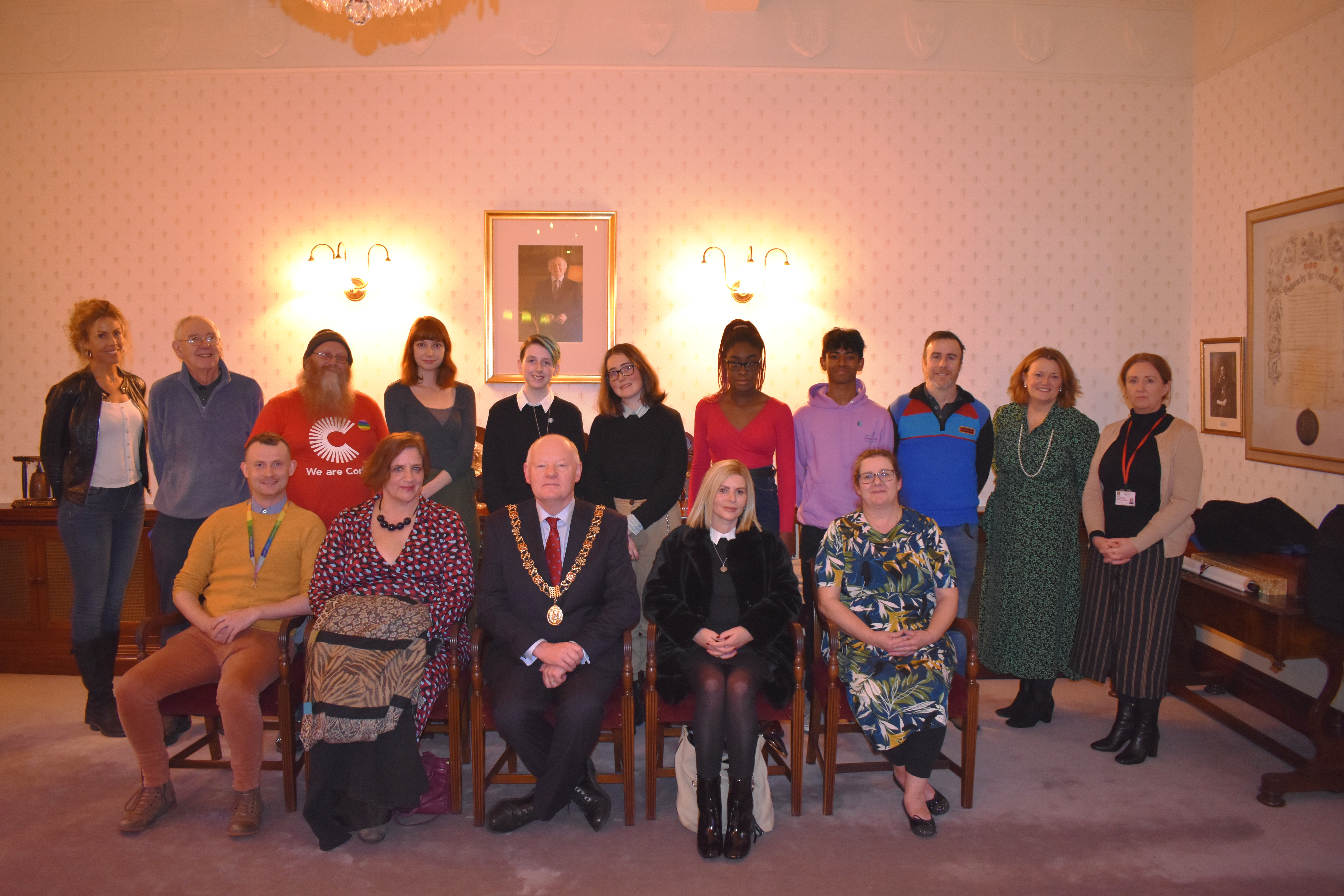 Winners of Cork Voices Campaign Celebrated