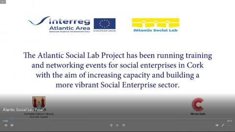 Cork Council has recorded a video regarding some activities in the framework of Atlantic Social Lab project.