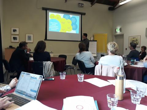 The Atlantic Social Lab project held a Measuring Social Impact Workshop for Social Enterprises in the Lifetime Lab in Cork on the 29th May 2019.